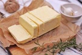 Butter is rich in healthy fat