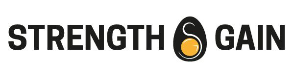 This is strength and gain's logo