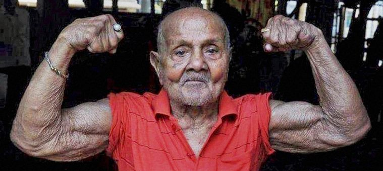Manohar Aich was the oldest bodybuilder