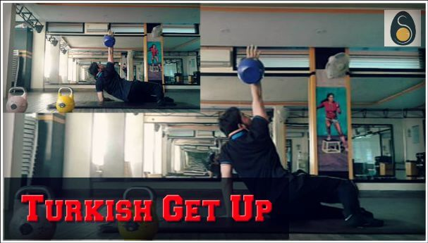 A strength and gain post featured image for turkish get up