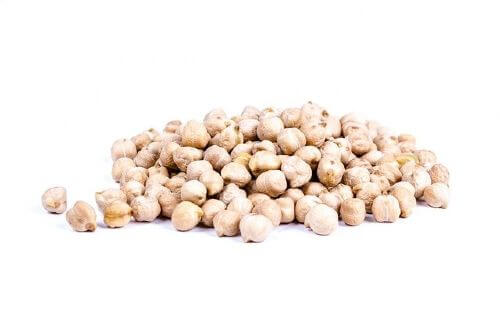 Chickpeas are a source of protein in many traditional Indian diet.